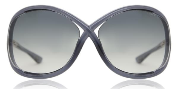 Óculos de Sol Tom Ford FT0009 WHITNEY 0B5 Cinza   OculosWorld Brasil 5c25fb9ae0