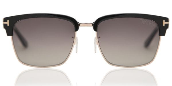 5aa8b1d0f3a Tom Ford FT0367 RIVER Polarized 01D Sunglasses in Gold ...