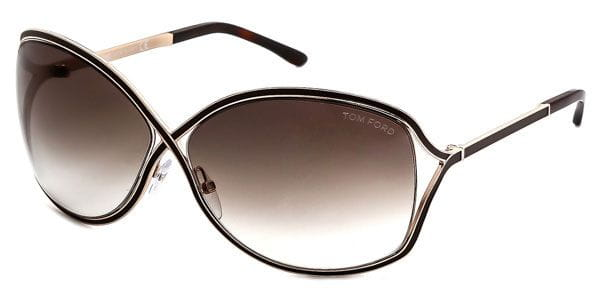 cdc67e84efc05 Tom Ford FT0179 RICKIE 48F Sunglasses in Brown