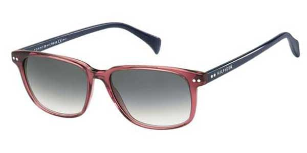 8208a3094 Tommy Hilfiger TH 1197/S 7NG/JJ Sunglasses in Blue | SmartBuyGlasses USA