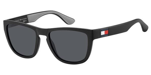 bce82342 Tommy Hilfiger TH 1557/S 08A/IR Sunglasses in Black ...