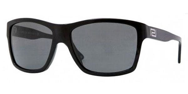 36ccd7f9156 Versace VE4216 Polarized GB1 81 Sunglasses in Black ...