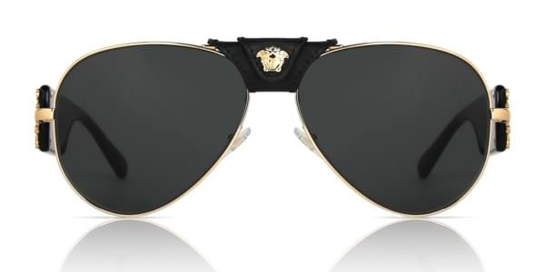 8486a4135b78 Versace VE2150Q 100287 Sunglasses Gold