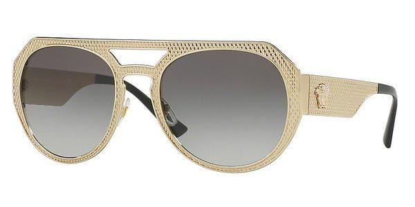 333ff800a09c Versace VE2175 METAL MESH 125211 Sunglasses Gold
