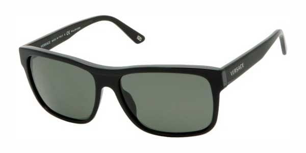 cdd43166904 Versace VE4179 GB1 58 Sunglasses in Black