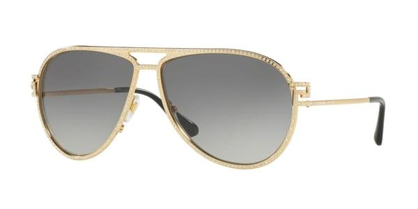 c262d393e858 Versace VE2171B 100211 Sunglasses Gold