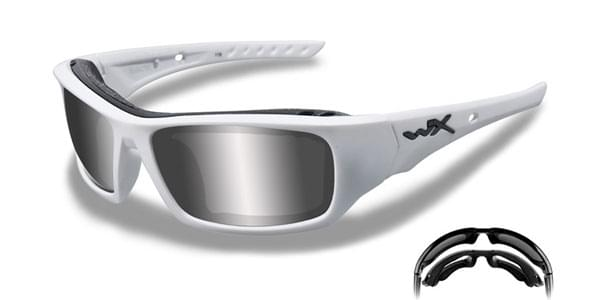 58f5df250e Wiley X Arrow Polarized CCARR04 Sunglasses White