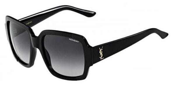 d8b57e62723 Yves Saint Laurent YSL 6381/S 7EC/HD Sunglasses Black ...