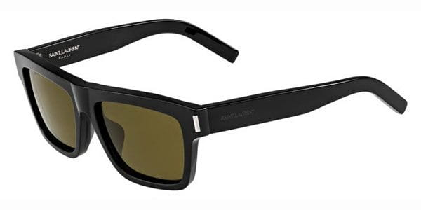 bee5ef2187a9 Yves Saint Laurent BOLD 5/F Asian Fit 807/EC Sunglasses in Black ...