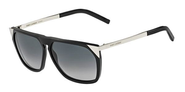 3dba0f095b3 Yves Saint Laurent SL 31 CSA/HD Sunglasses Black | VisionDirect ...